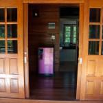 Вход, раздвижные двери