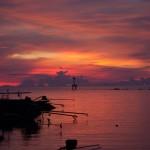Закат на Пангане